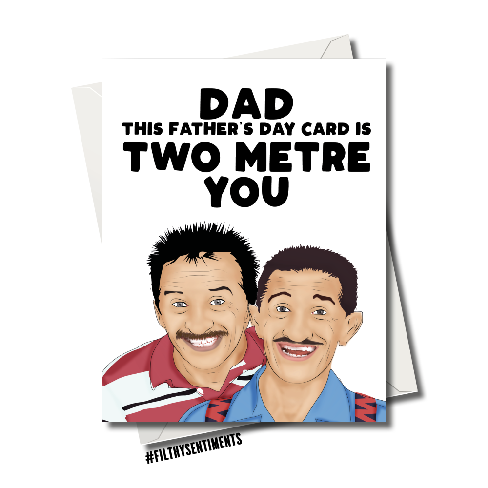 CHUCKLE BROTHERS FATHER'S DAY CARD