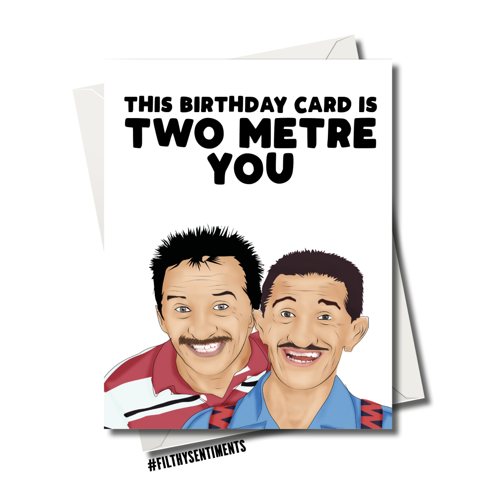 CHUCKLE BROTHERS BIRTHDAY CARD
