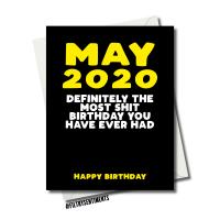 2020 CORONAVIRUS BIRTHDAY CARD