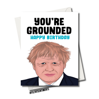 LOCKDOWN GROUNDED BORIS CARD FS1147