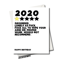 REVIEW OF MY 2020 BIRTHDAY CARD FS1161