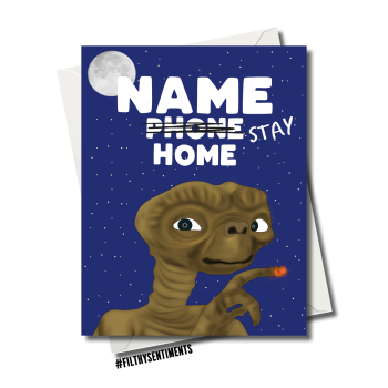 ET PHONE BUT STAY AT HOME CARD FS1163