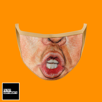 DONALD TRUMP FACE MASK. PRE ORDER E0017