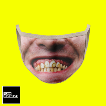 HORRIBLE TEETH FACE MASK