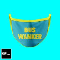 BUS WANKER FUNNY FACE MASK - D35