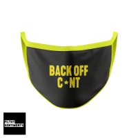 BACK OFF CUNT MASK E008