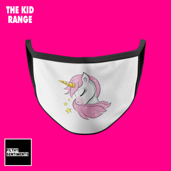 KIDS FACE MASK - UNICORN