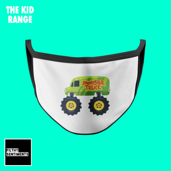 KIDS FACE MASK - MONSTER TRUCK