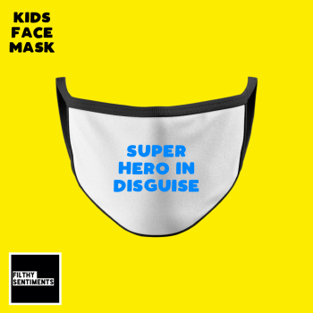 KIDS FACE MASK - SUPER HERO