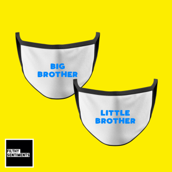 KIDS FACE MASK - BROTHER SET