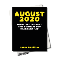 2020 CORONAVIRUS BIRTHDAY CARD