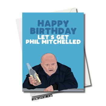 PHIL MITHCELLED CARD FS1196