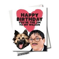 BIRTHDAY JIM & WILSON  CARD FS1191
