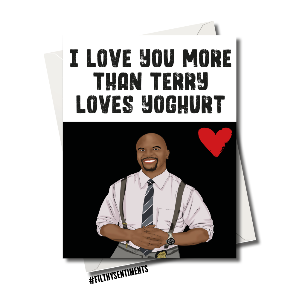 TERRY LOVES YOGHURT BROOKLY 99 CARD 119