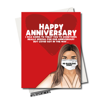 ANNIVERSARY NO BLOWJOB CARD 124