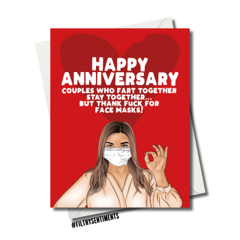 ANNIVERSARY FART TOGETHER FS1187