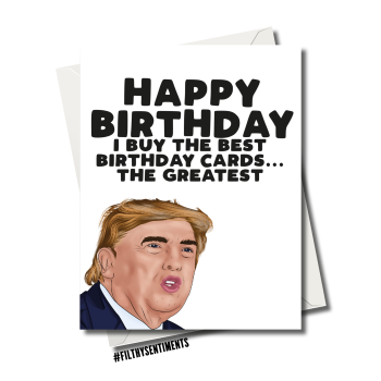 DONALD THE BEST BIRTHDAY CARDS 130