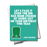BIN LOCKDOWN BIRTHDAY CARD FS1211
