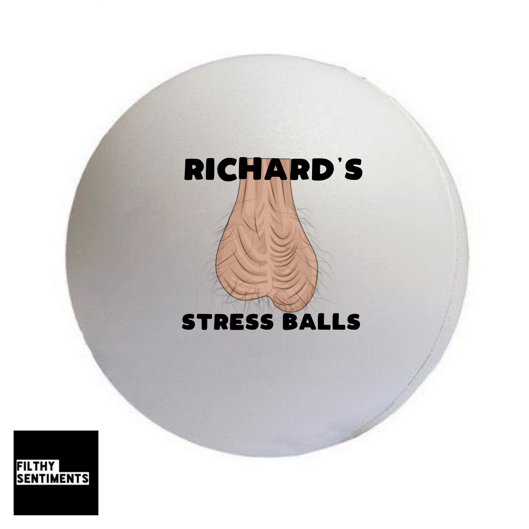 PERSONALISED STRESS BALL BOLLOCKS