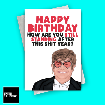 I'M STILL STANDING BIRTHDAY CARD