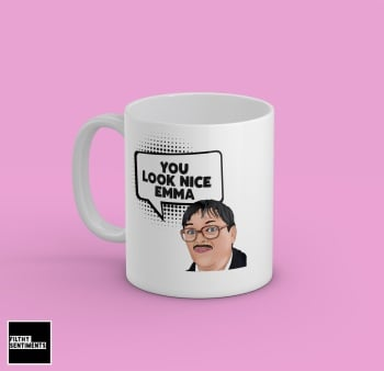 YOU LOOK NICE PERSONALISED MUG