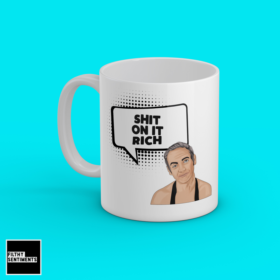 SHIT ON IT PERSONALISED MUG