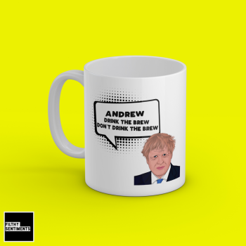 BORIS DON'T DRINK PERSONALISED MUG