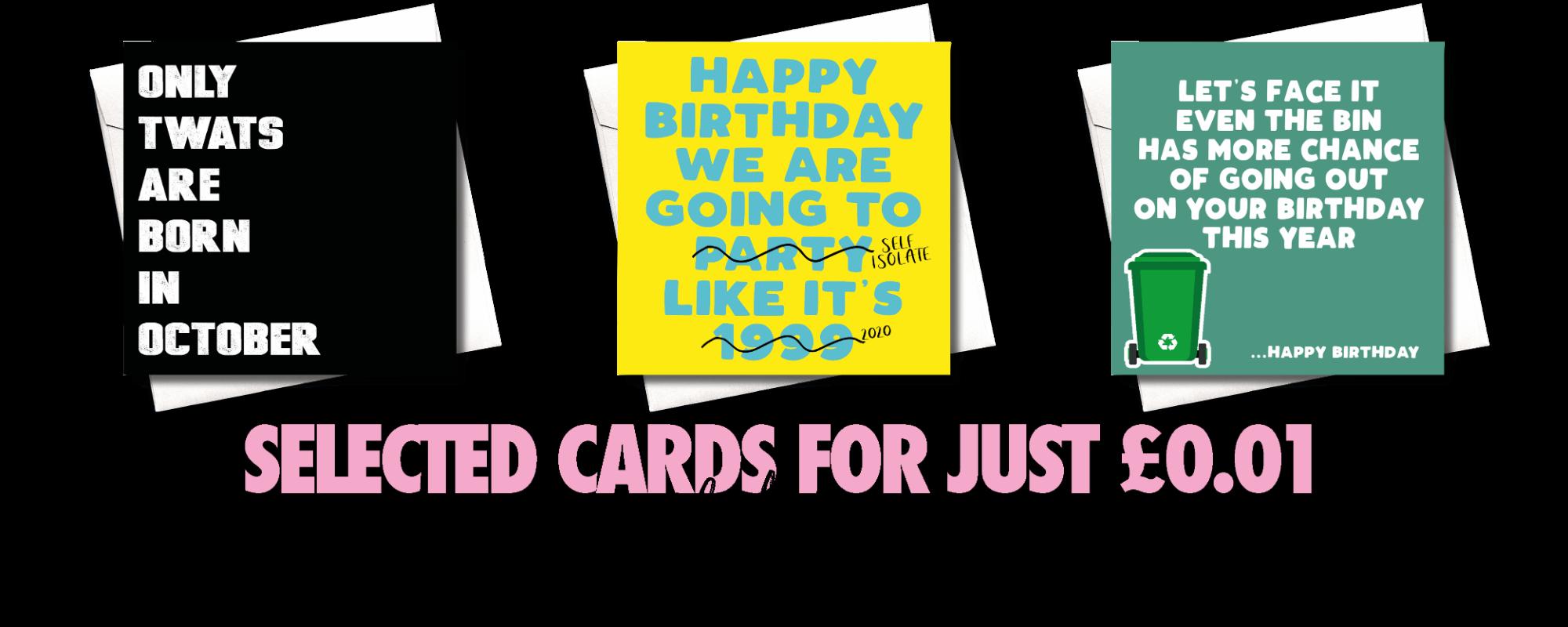 A PENNY CARD