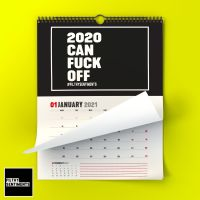 2021 BLACK FILTHY SENTIMENTS WALL CALENDAR - G031
