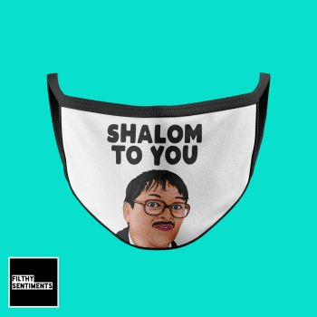 SHALOM TO YOU MASK