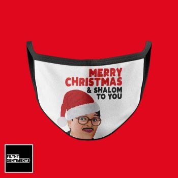CHRISTMAS SHALOM TO YOU MASK