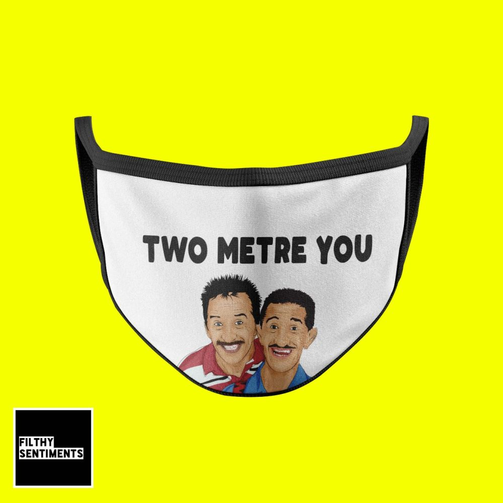 CHUCKLE BROTHERS MASK