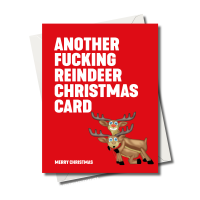 ANOTHER FUCKING REINDEER CARD FS1257