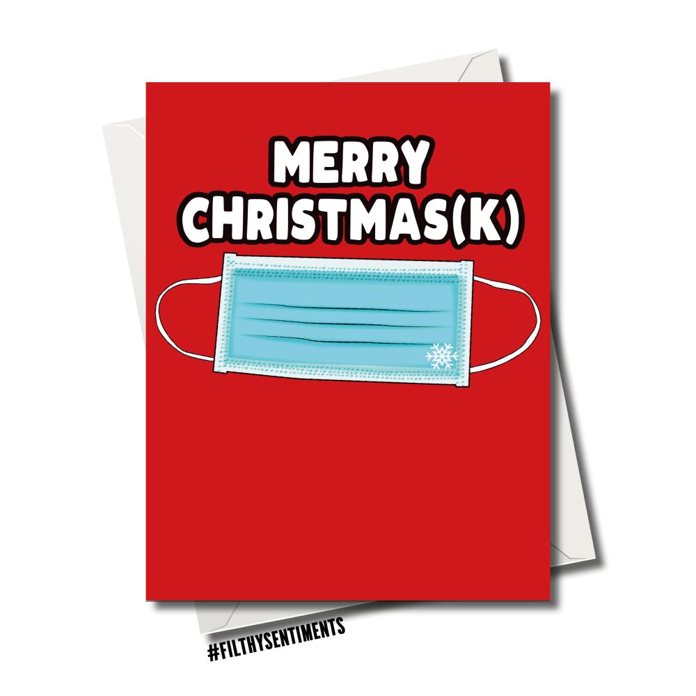 CHRISMASK CHRISTMAS CARD