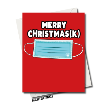 CHRISMASK CHRISTMAS CARD FS1252