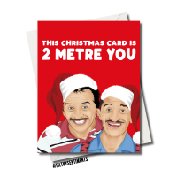 2 METRE CHRISTMAS CARD - FS1221