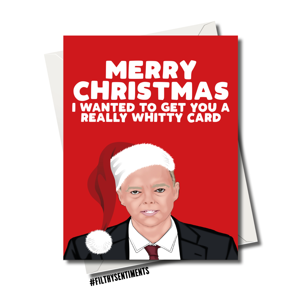 WHITTY CHRISTMAS CARD