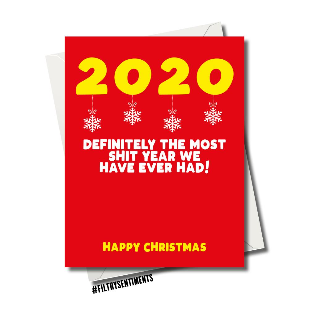 XMAS 2020 CHRISTMAS CARD