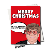 ELTON STANDING CHRISTMAS CARD - FS1246