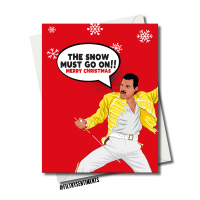 FREDDIE SNOW CHRISTMAS CARD FS1229