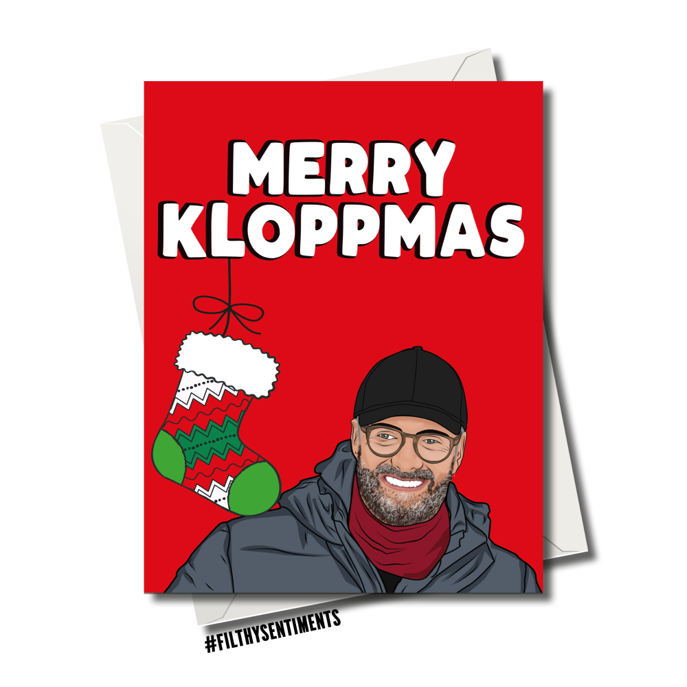 KLOPPMAS CHRISTMAS CARD