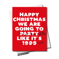 PARTY 1999 CHRISTMAS CARD - fs1226