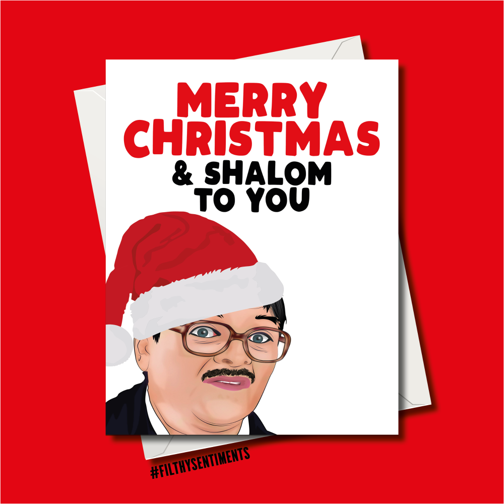 SHALOM CHRISTMAS CARD