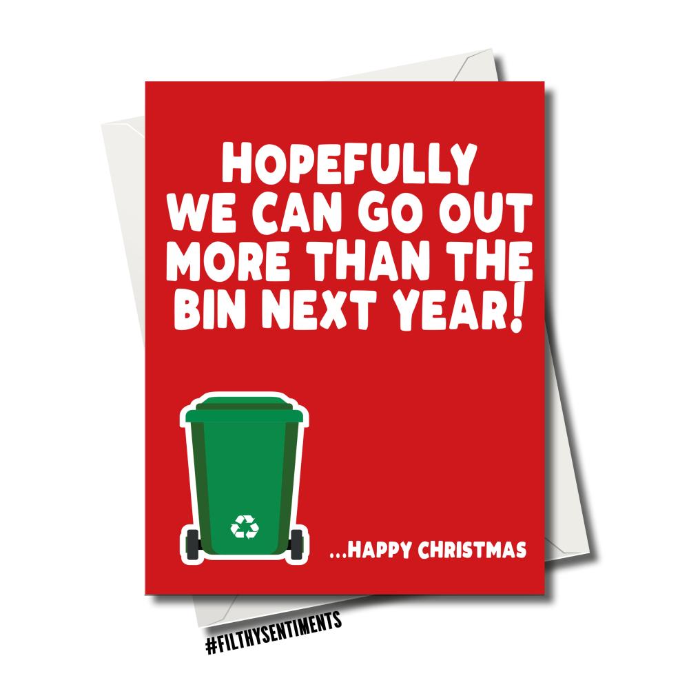 BIN CHRISTMAS CARD
