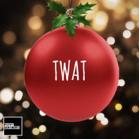 Christmas Bauble Decoration - Red Twat