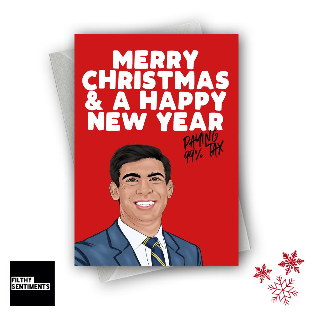 RISHI TAX CHRISTMAS CARD - FS1248
