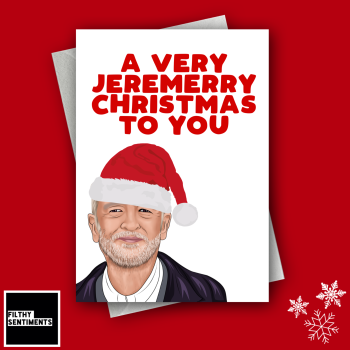 CORBYN CHRISTMAS CARD 1261