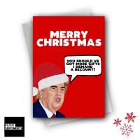 CHRISTMAS RECOUNT CARD FS1275
