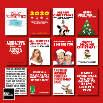 2020 CHRISTMAS CARD PACK - E0039