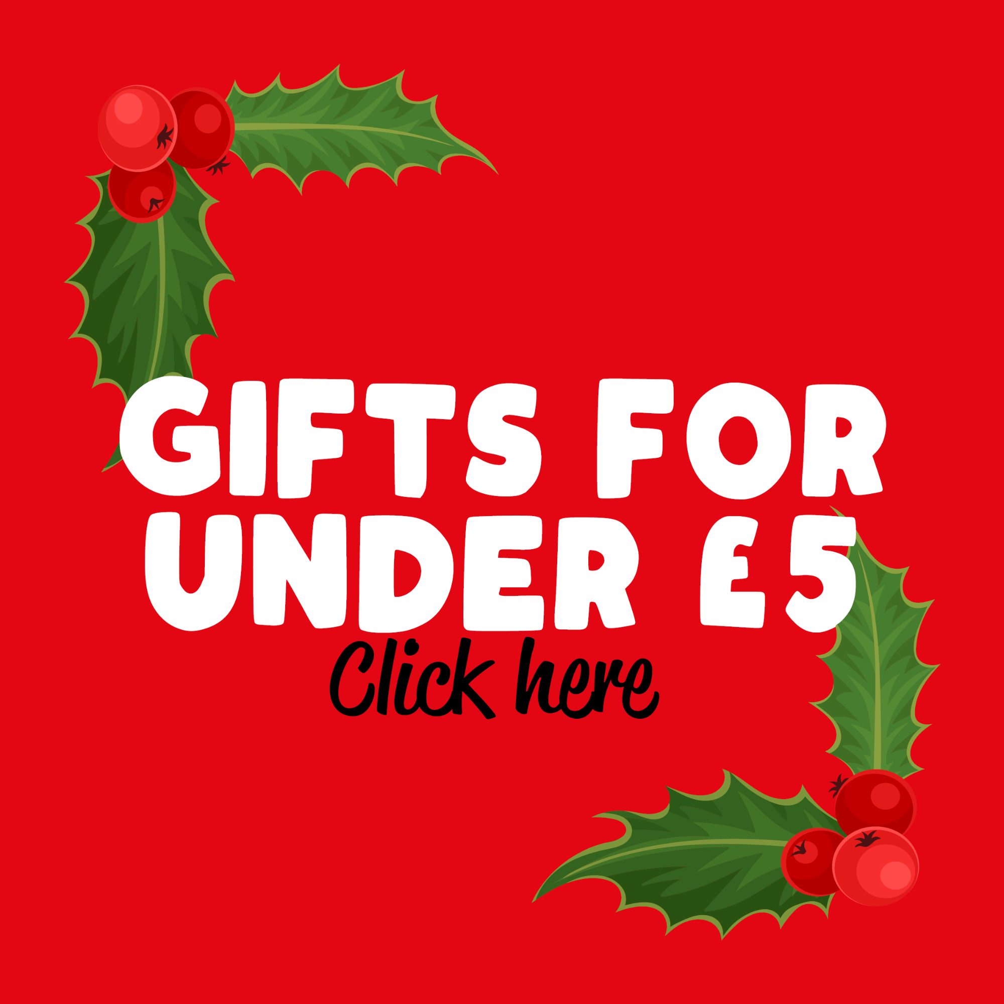 Funny christmas gifts for under £5